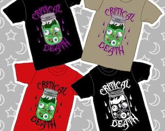 Critical Death (Dark Version) T-Shirt!