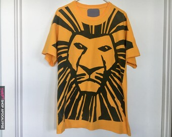 Vintage 90s The Lion King : The Broadway Musical T-Shirt
