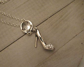 Shoe Necklace, Stiletto Necklace, Engagement Gift, Wedding Gifts, Christmas Gifts