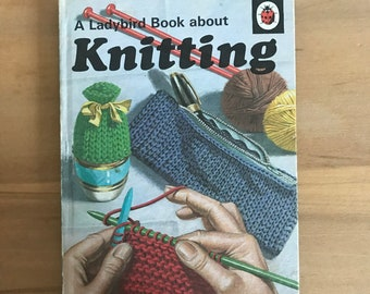 A Ladybird Book about Knitting - vintage copy