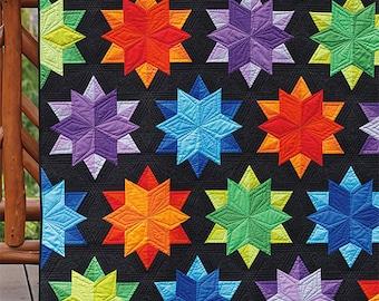 Modern Quilt Pattern Etsy