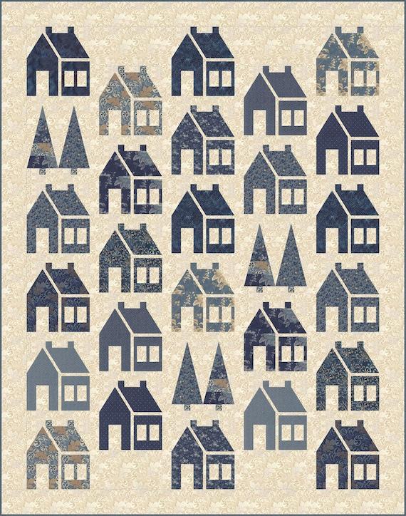 Blue Barn Quilt Pattern By Edyta Sitar Laundry Basket