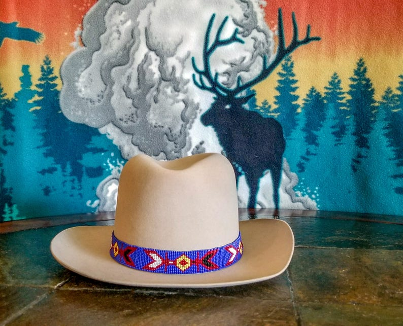 Mountain Men Hat Band As Worn By Tom Oar In The Series Etsy