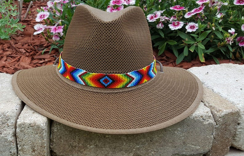 fc52b0aeb9002 Western Sky Beaded Hat Band