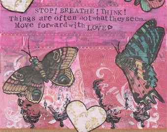 Move forward with love