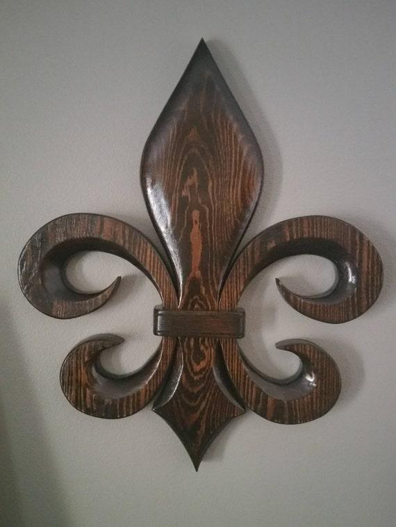 Fleur De Lis Handmade New Orleans Religious Symbols Unique Etsy
