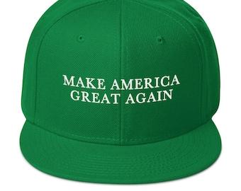Green Make America Great Again Donald Trump St Patricks Day Hat