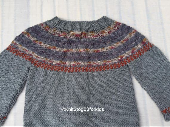 Hedgehog Christmas Jumper.Hedgehog Unisex Long Sleeve Cardigan Sweater Jumper Fairisle Style Yoke Hand Knit Winter Autumn Christmas Gift Sizes Age 2 5 Years