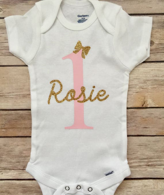 First Birthday Personalized Onesie® 1st Birthday Onesie