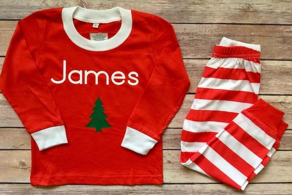 Toddler Boy Christmas Pajamas.Baby Boy Christmas Pajamas Baby Christmas Pajamas Baby Pajamas Boy Holiday Pajamas Toddler Pajamas Personalized Baby Pj Girl