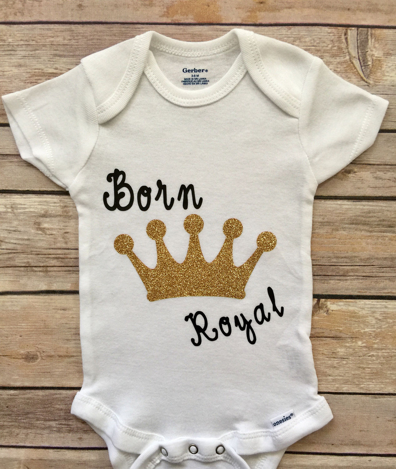 Born Royal Baby Girl Outfit® Newborn Outfit Baby Shower