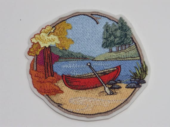 Outdoor Iron-On Patch Camping Lovers Patch Glue-on Patch Home Away from Home collection Sew-on Patch Embroidered Patch