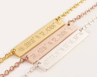 Landmark necklace necklace male and female couple creative lettering necklace gift