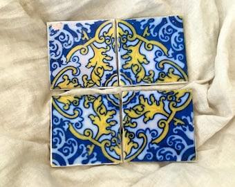 Belinha Portugal Tile Coasters- set of 4
