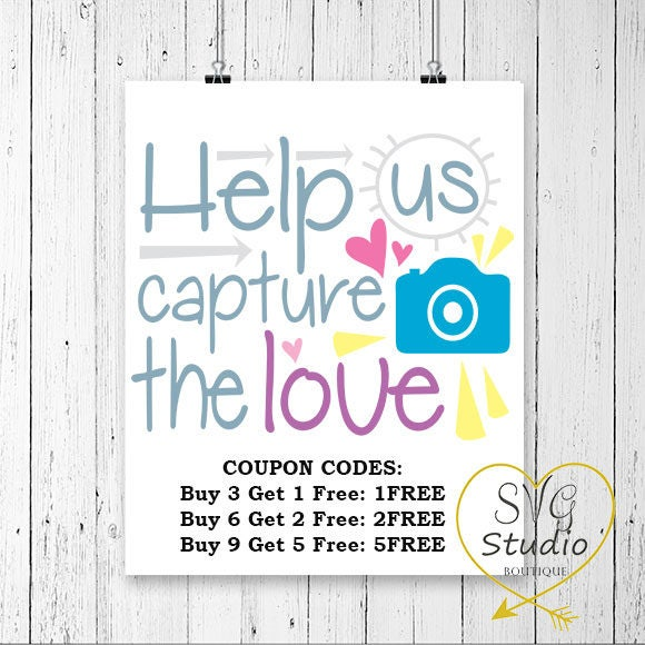 Download SVG Cutting File-Help Us Capture The Love Quote SVG ...