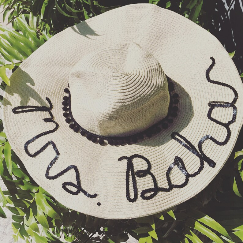1561990d876a7 Happy Wife Hat   Happy Wifey   Personalized Sun Hat   Floopy