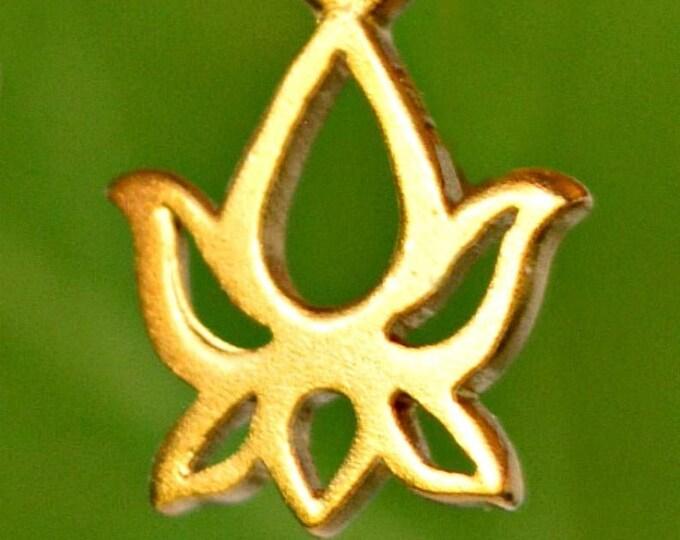 Bohemian Wedding Favor ~ Gold Lotus