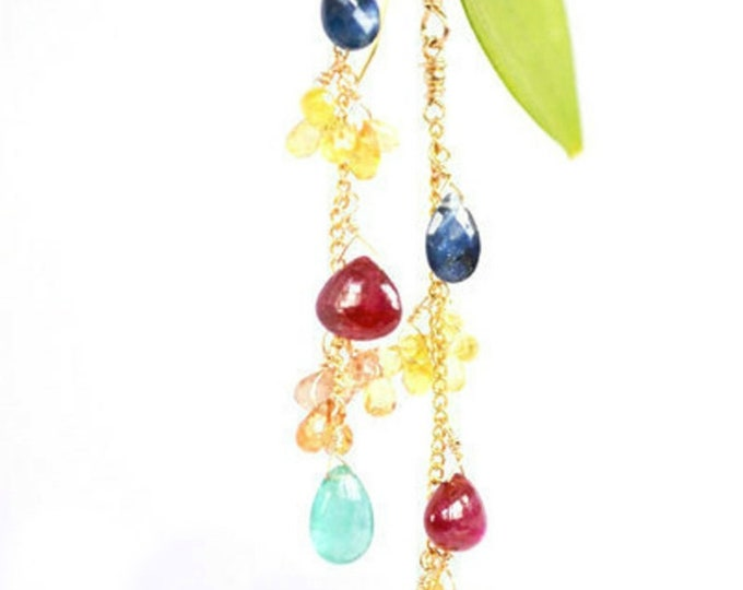 Genuine Precious Gemstone Earrings