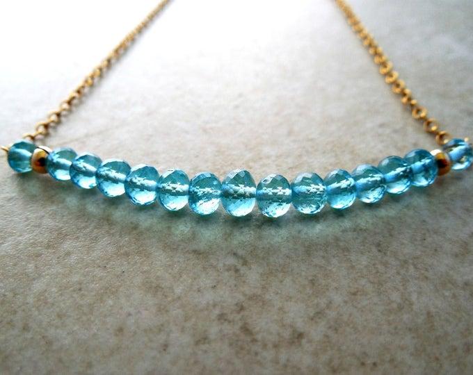 Boho Chic Apatite Necklace
