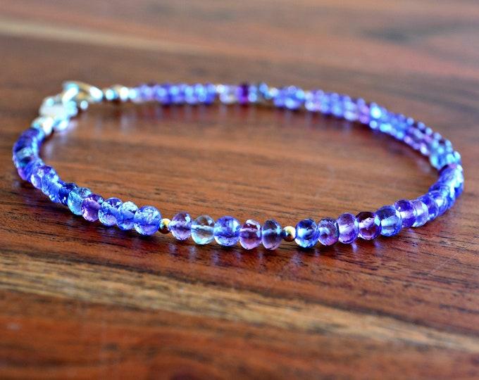 Tanzanite Bracelet ~ December Birthstone