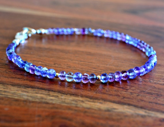 Tanzanite Bracelet ~ December Birthstone