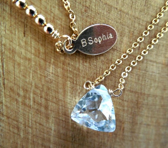 April Birthstone Necklace and/or Choker