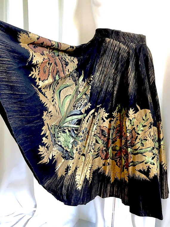 1940s Irish Linen Dress, 1950s Mid Century Dress,… - image 6