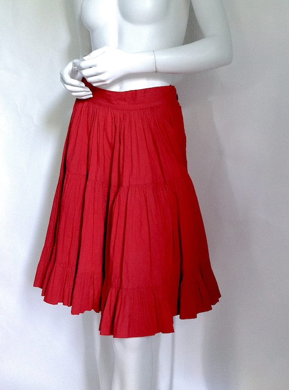 Still AVAILABLE! MID CENTURY Dress, 1940s Deco Dr… - image 4