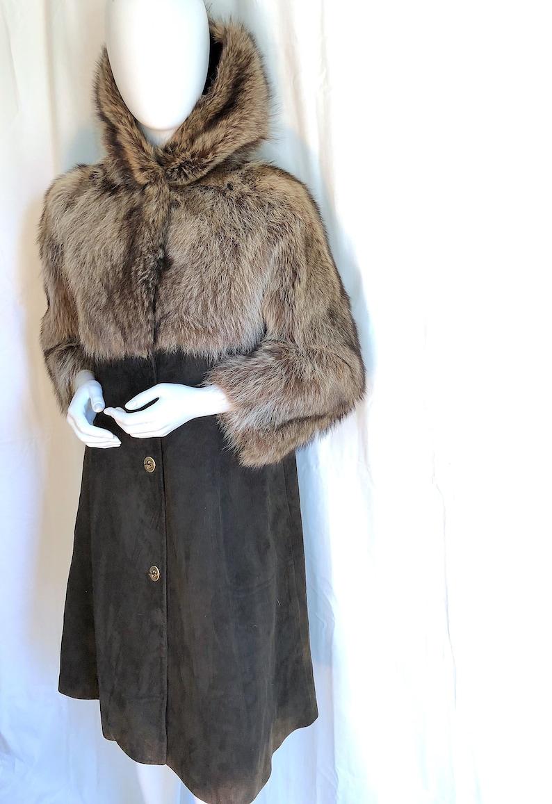 Image result for fur long coat brushing