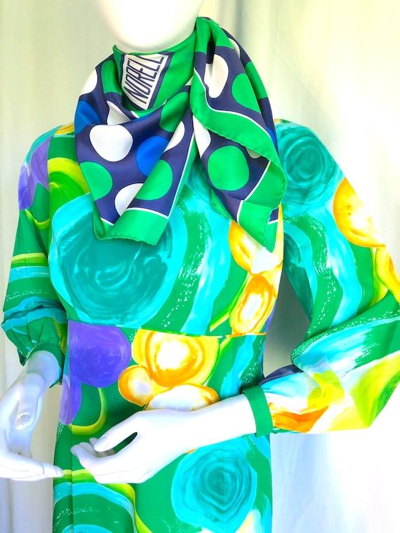 1940s Irish Linen Dress, 1950s Mid Century Dress,… - image 7