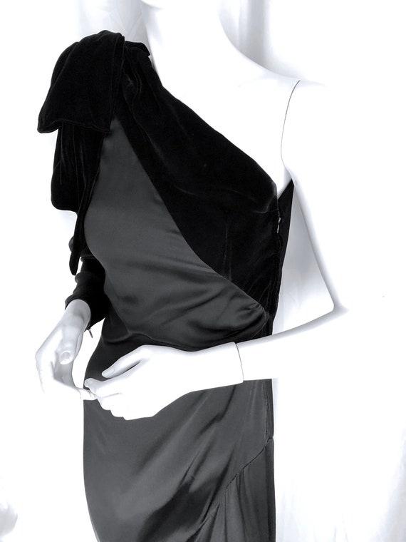 70s HALSTON Dress, Iconic Wrap Jersey Dress, Stud… - image 10