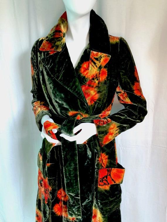 70s HALSTON Dress, Iconic Wrap Jersey Dress, Stud… - image 6
