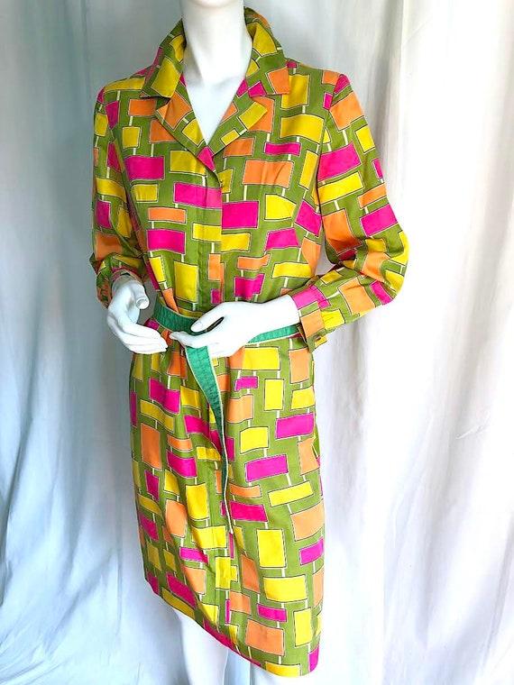 1940s Irish Linen Dress, 1950s Mid Century Dress,… - image 8