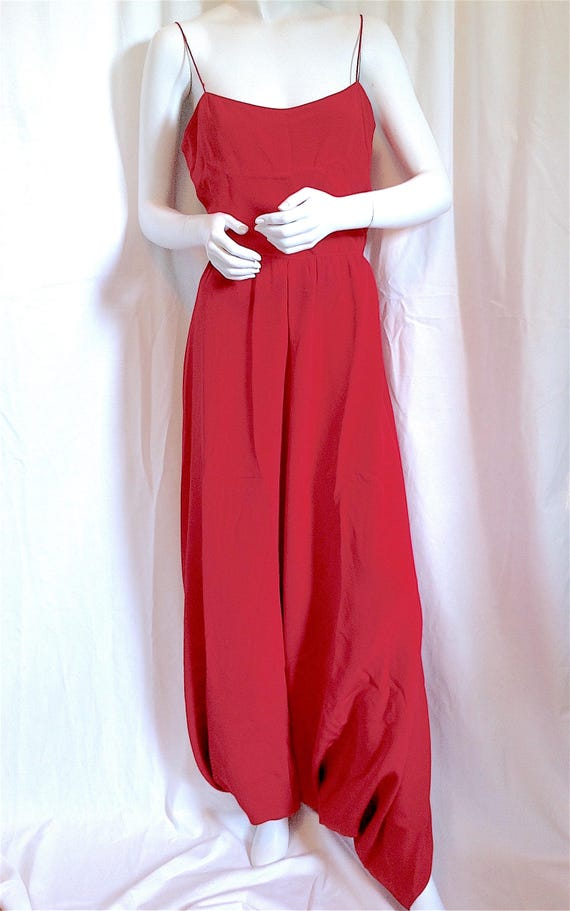 70s HALSTON Dress, Iconic Wrap Jersey Dress, Stud… - image 7