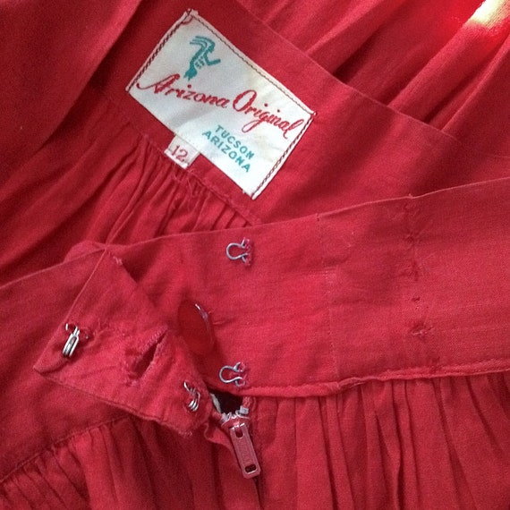 Still AVAILABLE! MID CENTURY Dress, 1940s Deco Dr… - image 5