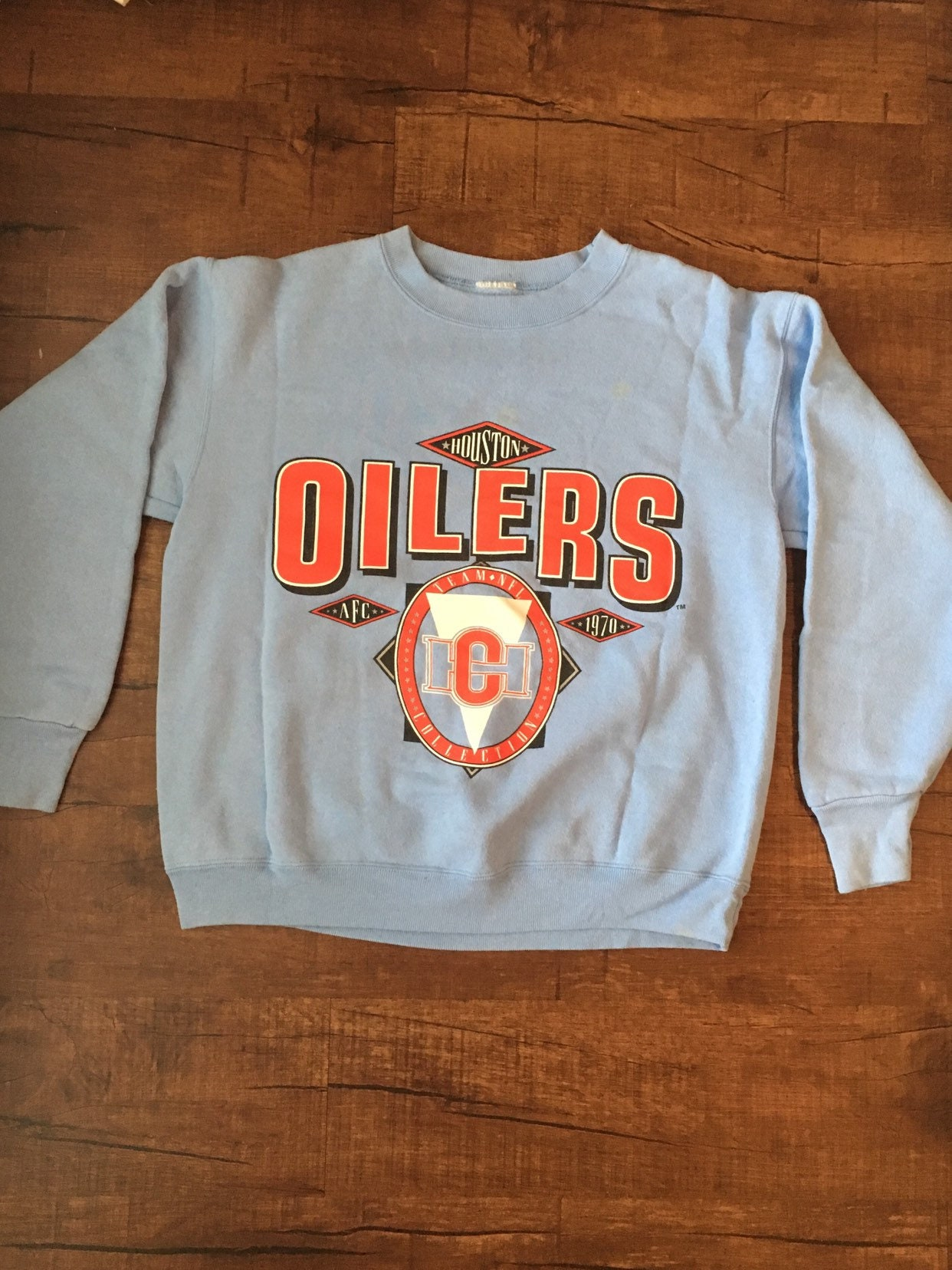 Vintage Houston Oilers Sweatshirt  5f3290650
