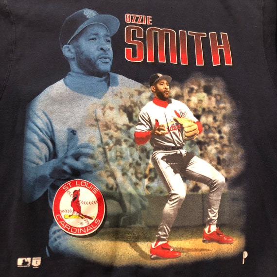 Ozzie Smith big print 1996 Cardinals Sweater