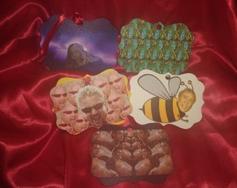 Christmas Ornaments or fridge magnet FREE SHIPPING