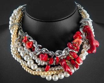 "Summer necklace, ""Happy Soul"""