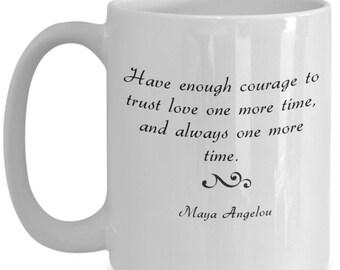 Maya Angelou Mug Etsy
