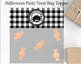 Halloween favors Halloween treat box witch favor Halloween spider with favor bag 10CT