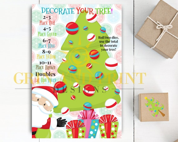 Christmas Games Christmas Games For Kids Christmas Party Etsy