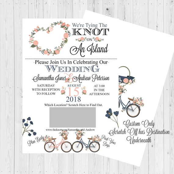 Wedding Invitations Wedding Invitation Belly Band Wedding
