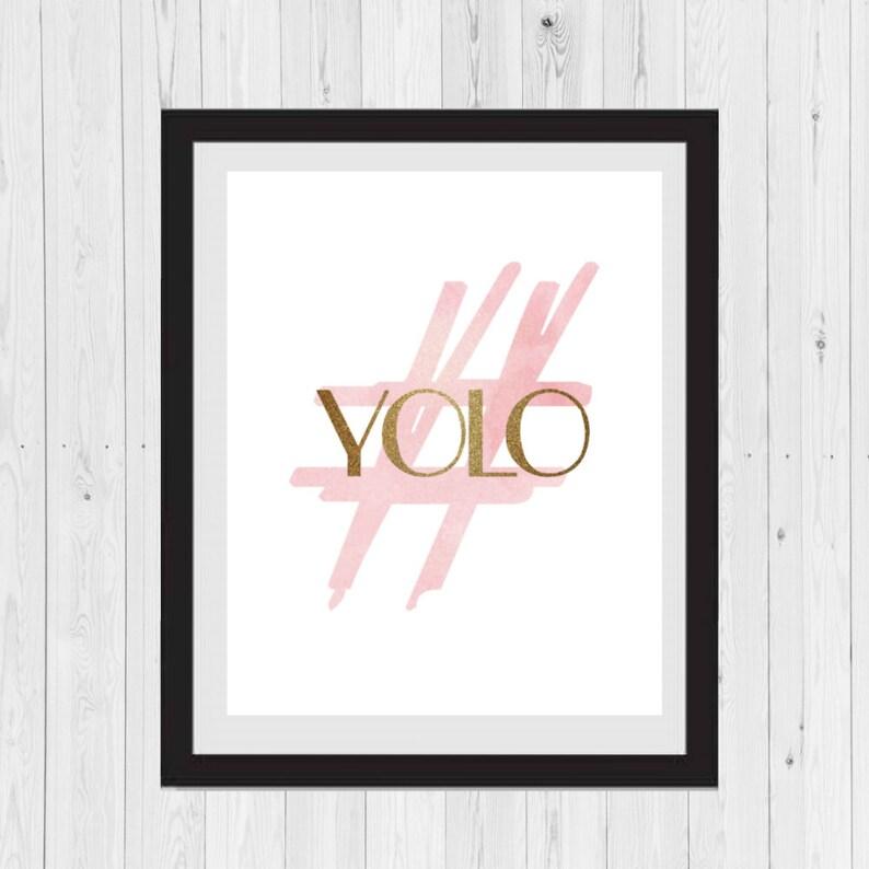 Hashtag Yolo Social Media Signs Instagram Sign Youtube Sign Hashtag Sign Social Media Home Decor Office Decor Social Background