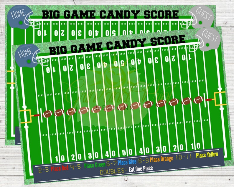 graphic about Super Bowl Party Games Printable titled Huge Recreation /Large Sport Bash / Soccer Social gathering Products / Soccer Bash Online games / Soccer Online games / Printable Game titles / Soccer Birthday Occasion