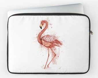 "Flamingo Pink 12 ""13"" 15 ""laptop computer case"
