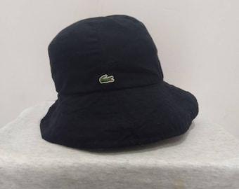 065024c211b340 Lacoste Logo Hat Black Colour Saiz M 58cm Bucket hat