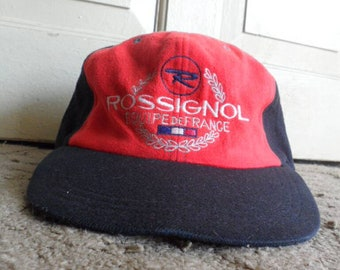 5fe74191984 Rossignol Equipe de France 6 Panel Ear Flap Cap