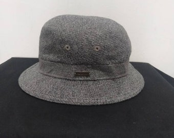 Aquascutum London hat Gray Color Bucket hat S M 57 58cm Made in Japan e47b878a66f0