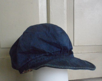 45 RPM Denim Cap